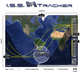 ISS-tracker